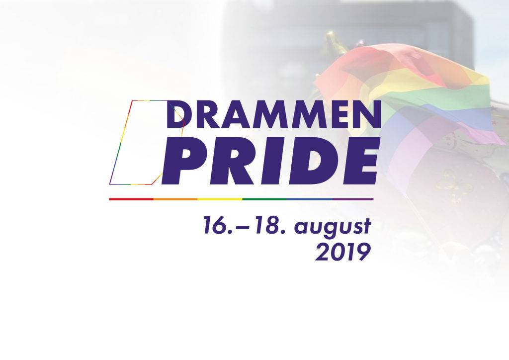 Drammen Pride - arrangeres for aller første gang helgen 16.–18. august 2019. Hold av helgen!