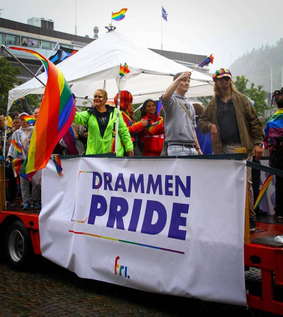 Drammen Pride Parade 2019. Foto: Eli Renate Lillebuen Kvarme/Drammen Pride.