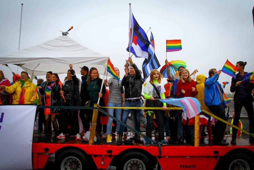 Drammen Pride Parade 2019 Foto: Eli Renate Lillebuen Kvarme/Drammen Pride.