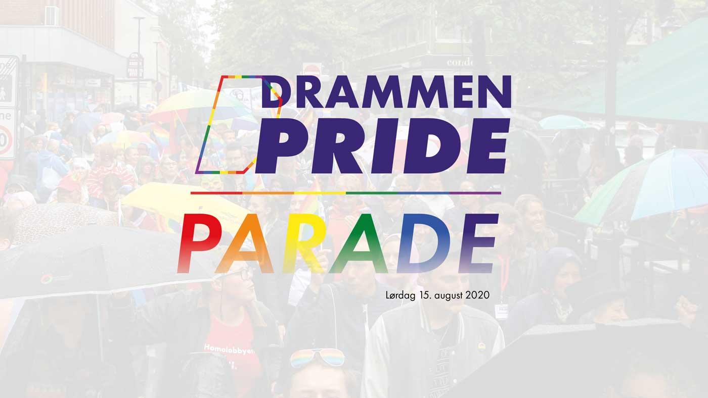 Drammen Pride 2020 arrangeres og sentreres rundt lørdag 15. august. Sett av hele helgen.