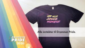 Støtt Drammen Pride - alle inntekter går til å lage PRIDE i elvebyen