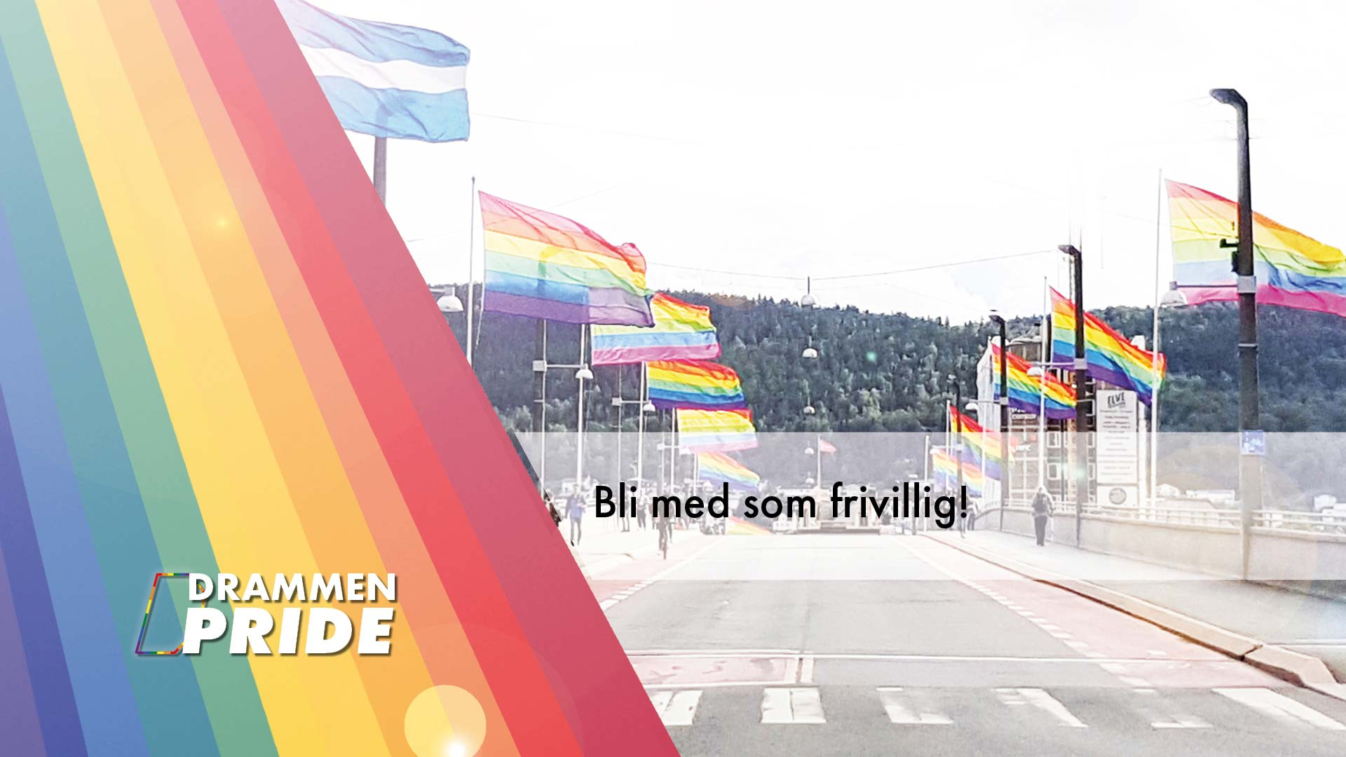 Bli frivillig i Drammen Pride