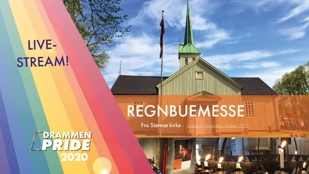 Velkommen til live-stream fra Regnbuemesse ❤️🧡💛💚💙💜 under Drammen Pride 2020