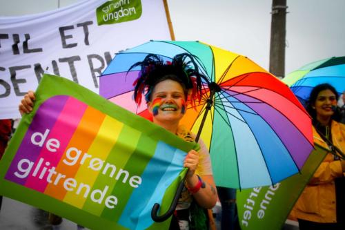 Drammen Pride Parade 2019. Foto: Eli Renate Lillebuen Kvarme/Drammen Pride.  Creative Commons Attribution-NonCommercial 4.0 International License.